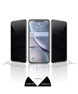 Dán cường lực iPhone 11. - Kingbull 3D chống nhìn trộm